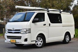 2012 Toyota HiAce KDH201R MY11 LWB White 5 Speed Manual Van