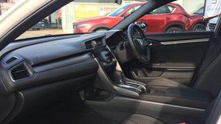 2017 Honda Civic 10th Gen MY17 VTi-S White 1 Speed Constant Variable Hatchback