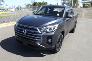 2021 Ssangyong Musso Q215 MY21 Ultimate Crew Cab XLV Grey 6 Speed Sports Automatic Utility.