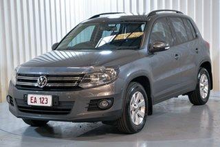 2014 Volkswagen Tiguan 5N MY14 103TDI DSG 4MOTION Pacific Grey 7 Speed Sports Automatic Dual Clutch.