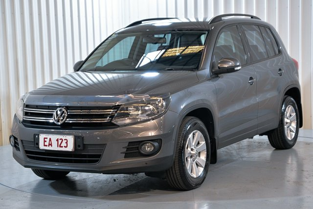 Used Volkswagen Tiguan 5N MY14 103TDI DSG 4MOTION Pacific Hendra, 2014 Volkswagen Tiguan 5N MY14 103TDI DSG 4MOTION Pacific Grey 7 Speed Sports Automatic Dual Clutch