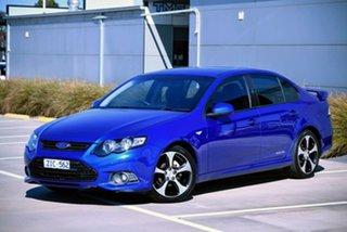 2012 Ford Falcon FG MkII XR6 Limited Edition Blue 6 Speed Sports Automatic Sedan.