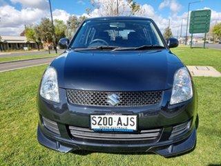 2010 Suzuki Swift RS415 Black 5 Speed Manual Hatchback.