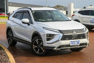 2020 Mitsubishi Eclipse Cross YB MY21 Aspire 2WD White 8 Speed Constant Variable Wagon.