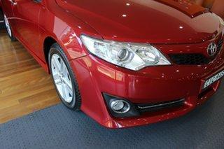 2011 Toyota Camry ASV50R Atara SL Red 6 Speed Sports Automatic Sedan.