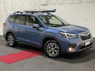 2020 Subaru Forester S5 MY20 2.5i-L CVT AWD Blue 7 Speed Constant Variable Wagon.