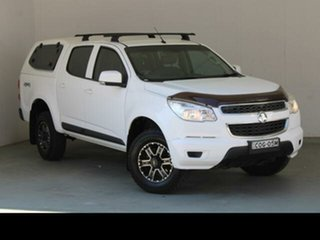 2014 Holden Colorado RG MY14 LX (4x4) 6 Speed Manual Cab Chassis