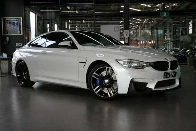 Used BMW M4 F82 M-DCT North Melbourne, 2016 BMW M4 F82 M-DCT White 7 Speed Sports Automatic Dual Clutch Coupe