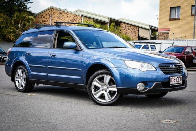 Used Subaru Outback B4A MY07 Luxury D/Range AWD Moorooka, 2007 Subaru Outback B4A MY07 Luxury D/Range AWD Blue 5 Speed Manual Wagon