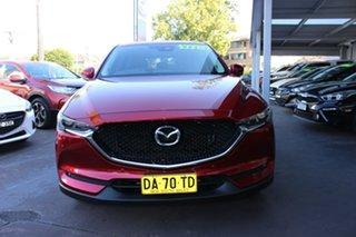 2017 Mazda CX-5 KE1032 Grand Touring SKYACTIV-Drive i-ACTIV AWD Red 6 Speed Sports Automatic Wagon