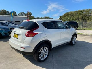 2014 Nissan Juke F15 MY14 ST 2WD White 1 Speed Constant Variable Hatchback