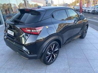 2021 Nissan Juke F16 Ti DCT 2WD Pearl Black 7 Speed Sports Automatic Dual Clutch Hatchback.
