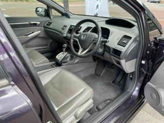 2007 Honda Civic 40 Sport Purple 5 Speed Automatic Sedan