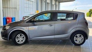 2012 Holden Barina TM MY13 CD Grey 6 Speed Automatic Hatchback