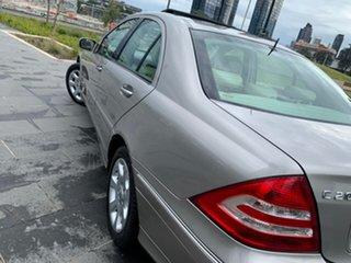 2005 Mercedes-Benz C-Class W203 MY2006 C200 Kompressor Elegance Gold 5 Speed Sports Automatic Sedan