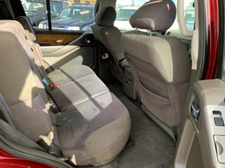 2006 Nissan Pathfinder R51 ST-L (4x4) Red 5 Speed Automatic Wagon