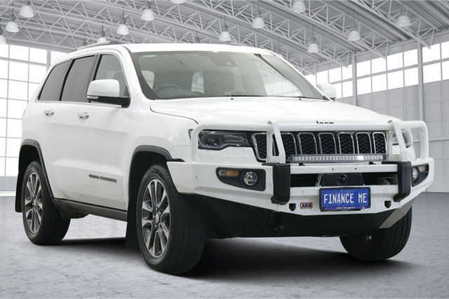 Used Jeep Grand Cherokee WK MY18 Limited Victoria Park, 2018 Jeep Grand Cherokee WK MY18 Limited White 8 Speed Sports Automatic Wagon
