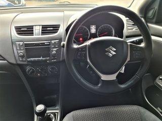2015 Suzuki Swift FZ MY15 GL Black 5 Speed Manual Hatchback