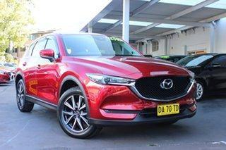 2017 Mazda CX-5 KE1032 Grand Touring SKYACTIV-Drive i-ACTIV AWD Red 6 Speed Sports Automatic Wagon.