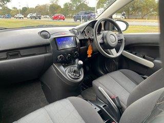 2011 Mazda 2 DE10Y1 MY10 Neo White 5 Speed Manual Hatchback