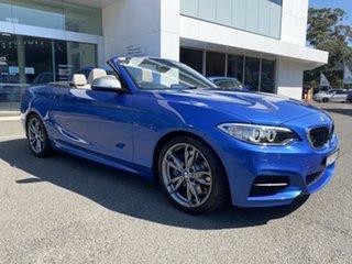 2015 BMW M235i F23 Estoril Blue 8 Speed Automatic Convertible