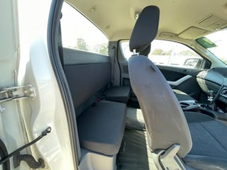2012 Mazda BT-50 UP0YF1 XT Freestyle White 6 Speed Manual Cab Chassis