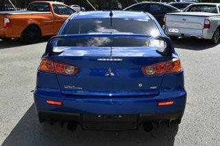 2008 Mitsubishi Lancer CJ Evolution MR Blue 6 Speed Direct Shift Sedan