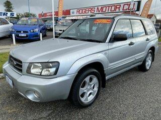 2004 Subaru Forester MY04 XS Luxury Silver 4 Speed Automatic Wagon.