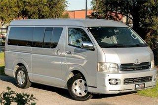 2008 Toyota HiAce KDH211K Super GL Silver 4 Speed Automatic Van.