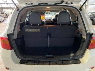 2008 Toyota Kluger GSU45R KX-S AWD White 5 Speed Sports Automatic Wagon