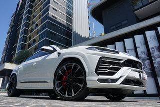 2020 Lamborghini Urus 636 No Badge Bianco Icarus 8 Speed Sports Automatic Wagon.