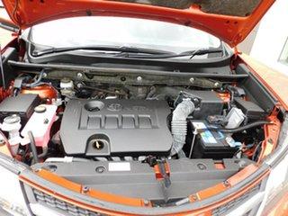 2015 Toyota RAV4 ZSA42R GXL 2WD Orange 6 Speed Manual Wagon.