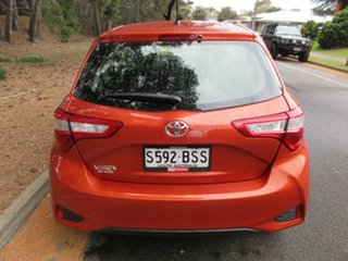 2017 Toyota Yaris NCP130R Ascent Orange 4 Speed Automatic Hatchback