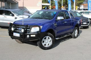 2013 Ford Ranger PX XLT Super Cab Blue 6 Speed Sports Automatic Utility.