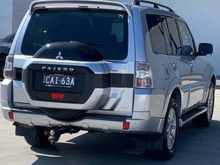 2017 Mitsubishi Pajero NX MY17 GLS Sterling Silver 5 Speed Sports Automatic Wagon.