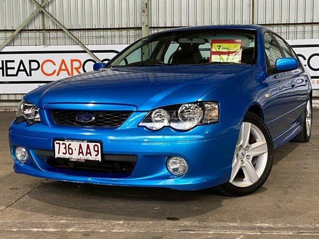 Used Ford Falcon BA XR6 Rocklea, 2003 Ford Falcon BA XR6 Blue 4 Speed Sports Automatic Sedan