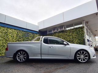 2012 Ford Falcon FG MkII XR6 Ute Super Cab Limited Edition Silver 6 Speed Sports Automatic Utility.