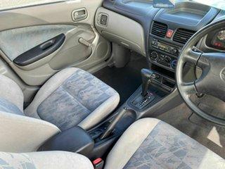 2002 Nissan Pulsar N16 LX White 4 Speed Automatic Sedan