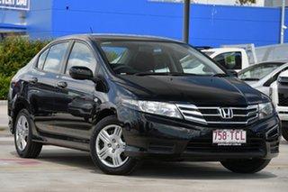 2011 Honda City GM MY11 VTi Black 5 Speed Automatic Sedan.