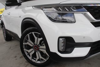 2019 Kia Seltos SP2 MY20 GT-Line DCT AWD Clear White 7 Speed Sports Automatic Dual Clutch Wagon.