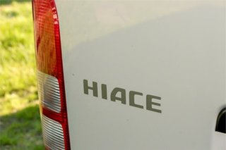 2017 Toyota HiAce KDH201V DX Silver 4 Speed Automatic Van