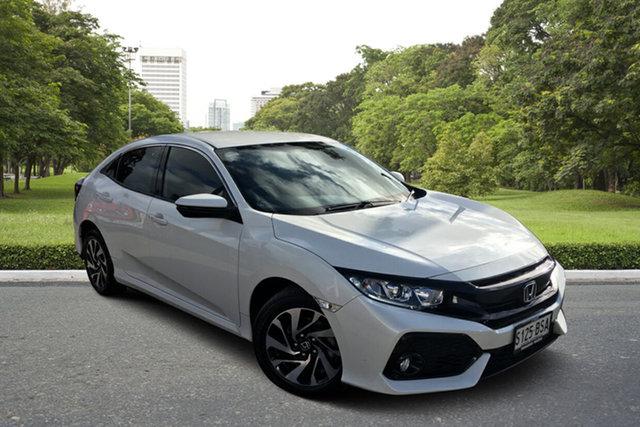 Used Honda Civic 10th Gen MY17 VTi-S Paradise, 2017 Honda Civic 10th Gen MY17 VTi-S White 1 Speed Constant Variable Hatchback