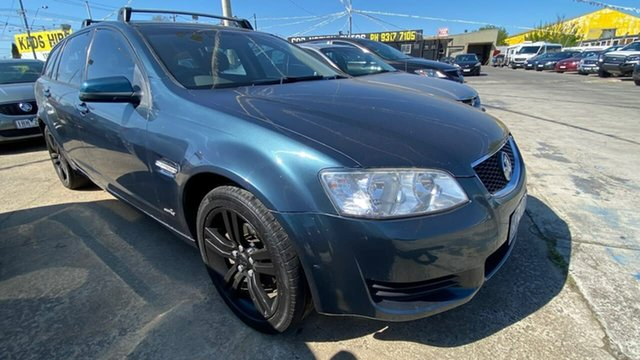 Used Holden Commodore VE II MY12 Omega Sportwagon Maidstone, 2011 Holden Commodore VE II MY12 Omega Sportwagon Blue 6 Speed Sports Automatic Wagon