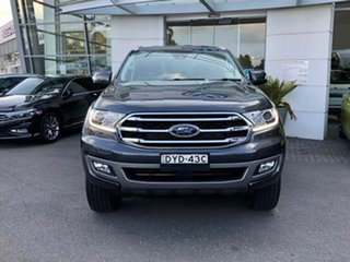 2018 Ford Everest UA II 2019.00MY Trend Grey 10 Speed Sports Automatic SUV.
