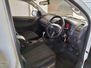 2015 Isuzu D-MAX MY15 SX Crew Cab 4x2 High Ride White 5 Speed Sports Automatic Utility