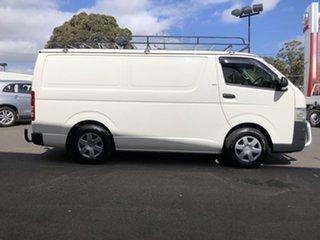 2009 Toyota HiAce TRH201R MY07 Upgrade LWB French Vanilla 5 Speed Manual Van.