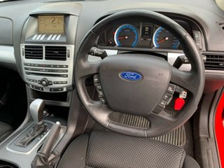 2010 Ford Falcon FG XR6 Red 5 Speed Sports Automatic Sedan