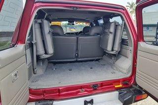 1998 Nissan Patrol GU TI Red 4 Speed Automatic Wagon