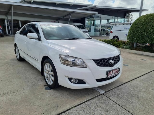 Used Toyota Aurion GSV40R AT-X Yamanto, 2009 Toyota Aurion GSV40R AT-X White 6 Speed Sports Automatic Sedan
