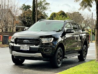 2020 Ford Ranger PX MkIII 2021.25MY Wildtrak Black 6 Speed Sports Automatic Double Cab Pick Up.